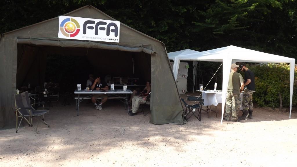 Stand FFA. Crédit photo FFA.