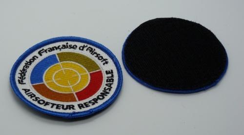 Patchs Officiels FFA Brodés Couleurs
