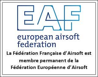 FFA membre permament de la fédération Européenne dAirsoft